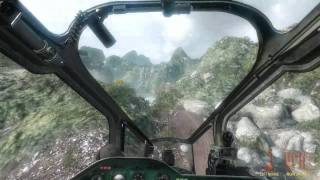 Call Of Duty : Black Ops - Mil Mi-24 Hind Helicopter Gameplay