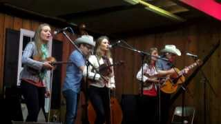 The Quebe Sisters - Across the Alley From the Alamo - Watermelon Park Fest 2013