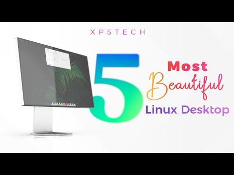 TOP 5 : Best Looking Linux Desktops! [Mid 2021]