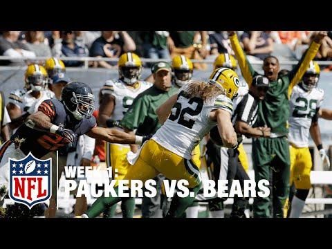 Packers LB Clay Matthews Picks Off Jay Cutler   Packers vs. Bears   NFL