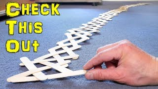 Awesome Chain Reaction - Sticks Weave
