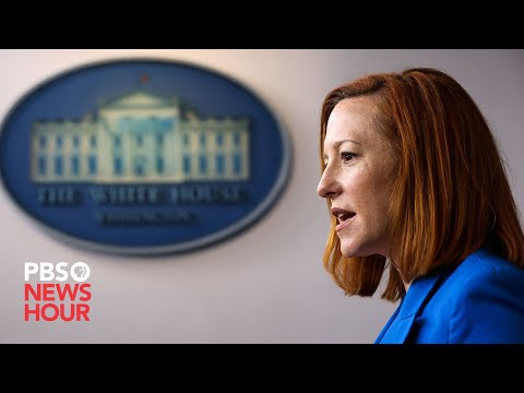 WATCH LIVE: Jen Psaki holds White House news briefing