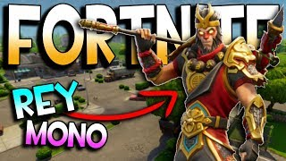 REY MONO - France GAGNER 5 NUEVA SKIN (FR) FORTNITE BATTLE ROYALE