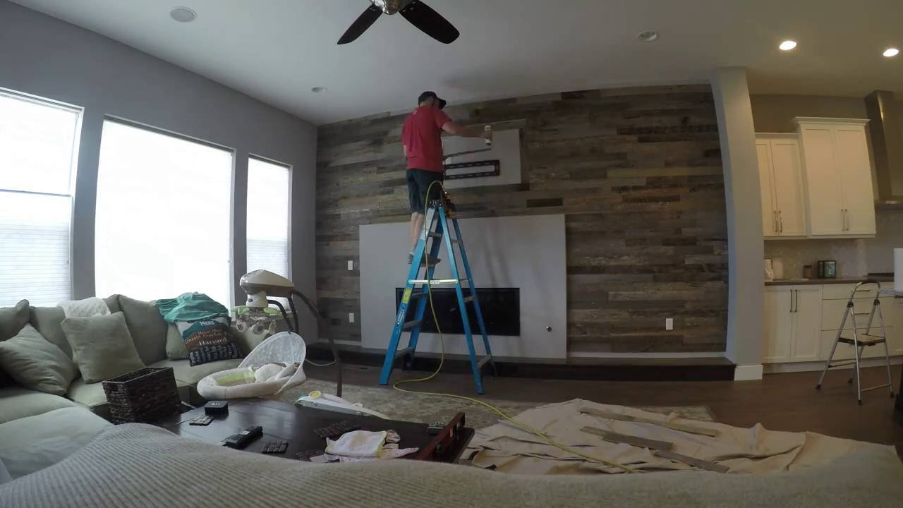Wood Accent Wall For Bedroom