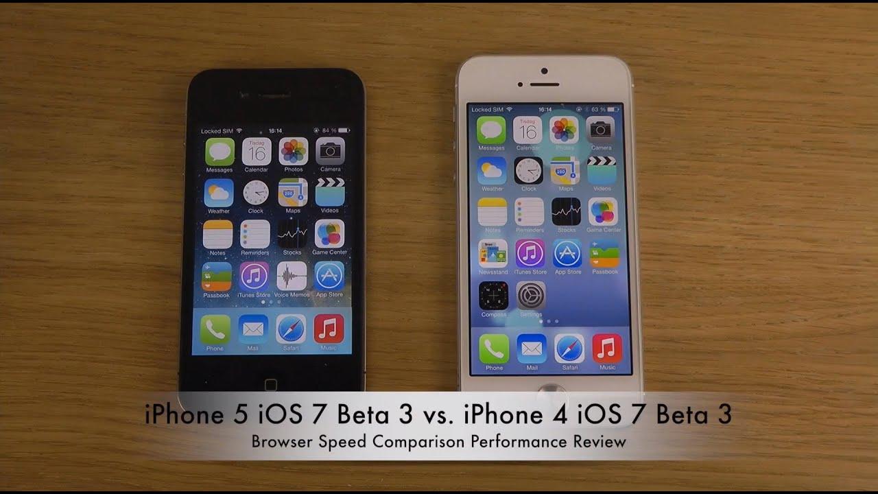 ios 7 beta iphone 4 youtube