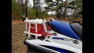 jet ski diy rod and cooler rack ep 138
