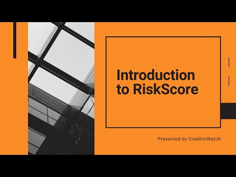 Introduction to RiskScore
