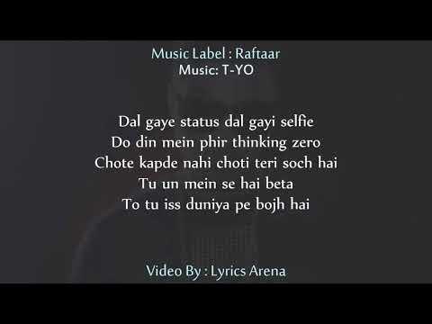AURAT |Lyics Raftaar|Tribute to ASIFA | T-YO music|Justice For Asifa
