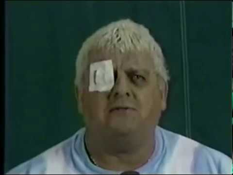 "NWA/JCP: Dusty Rhodes, ""An eye for an eye!"" (12/3/88 World Championship Wrestling)"