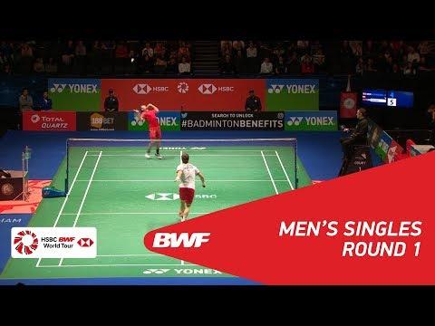 MS   Hans-Kristian Solberg VITTINGHUS (DEN) vs LIN Dan (CHN) [6]   BWF 2018