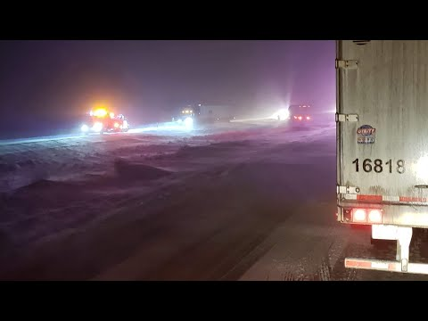 Team OTR Trucking | Sorry folks, Wyoming is closed (PART 2)