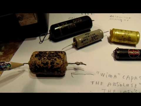 Vintage electronic components (video 2017)