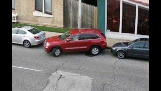 Parkir Mobil Hanya Supir Skil Dewa Yang Mampu