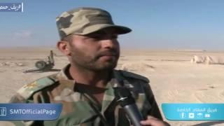 Syria, Homs, Syrian Arab Army Advancing on Shaer Oil/Gas Field Axis.