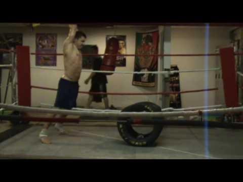 20. oct. 2009. workout @ Tony Pep's Gym Vancouver Dainis Viskers & Renars Latkovskis