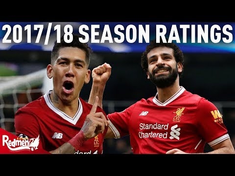 2017/18 Liverpool Player Ratings | Salah and Firmino