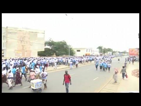 Togo, MARCHE DU PARTI UNIR À LOMÉ