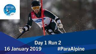 Day 1   Run 2   World Para Alpine Skiing World Cup   Zagreb 2019