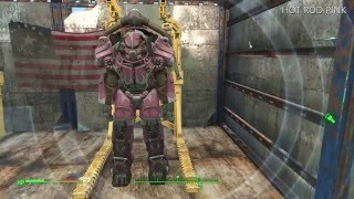 FALLOUT 4 RARE POWER ARMOR PAINT JOB COLORS LOCATIONS & GUIDE