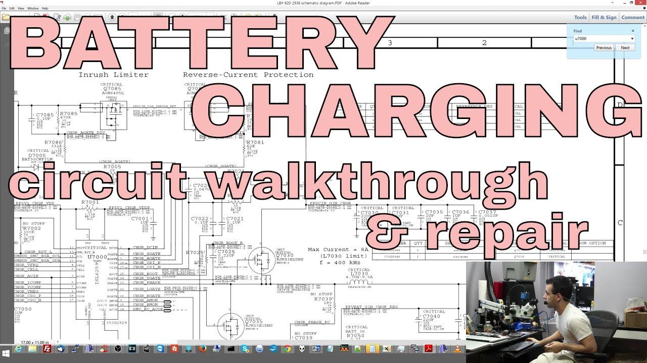 Macbook logic board not charging battery repair  YouTube