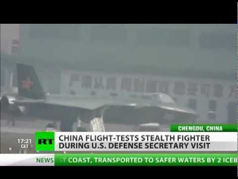 China's J-20 Stealth fighter jet makes first test flight