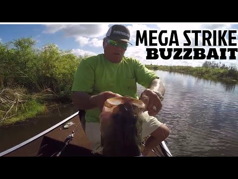 Mega Strike Buzz Bait For BIG BASS