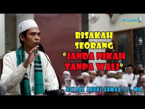 Bisakah Seorang Janda Nikah Tanpa Wali | Ustadz Abdul Somad, CL, MA