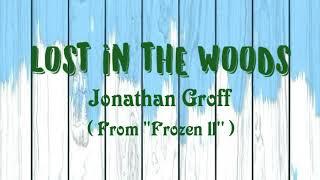 LOST IN THE WOODS - Jonathan Groff ( lyrics )