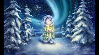 """Новогодняя детская песня  """"Белые снежинки"""""""