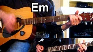 ДДТ — В последнюю осень + (СОЛО) Тональность ( Еm ) Как играть на гитаре