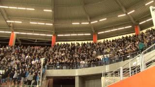 Kibice na meczu Zagłębie Lubin - Lech Poznań 0:1 - nowa przyśpiewka!