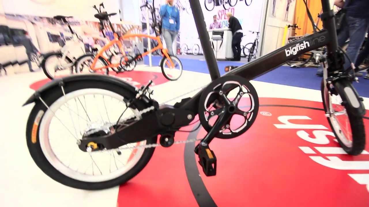 Bigfish Folding Bike At Eurobike Youtube