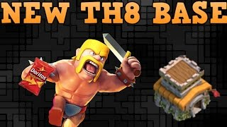 Clash of Clans | TH8 Farming Base Layout | Defense Strategies