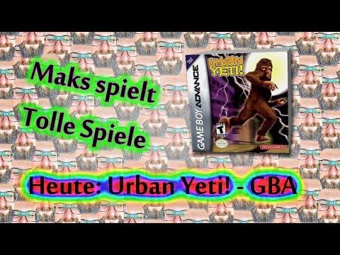 Let's Play - Urban Yeti!  Gameboy Advance Part 1