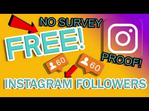 Free Instagram Followers - How to get FREE Instagram Followers using AppGift [REAL FOLLOWERS] (2017)