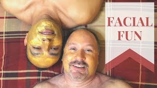 Facial Fun | Gay Couple | Bonded Together