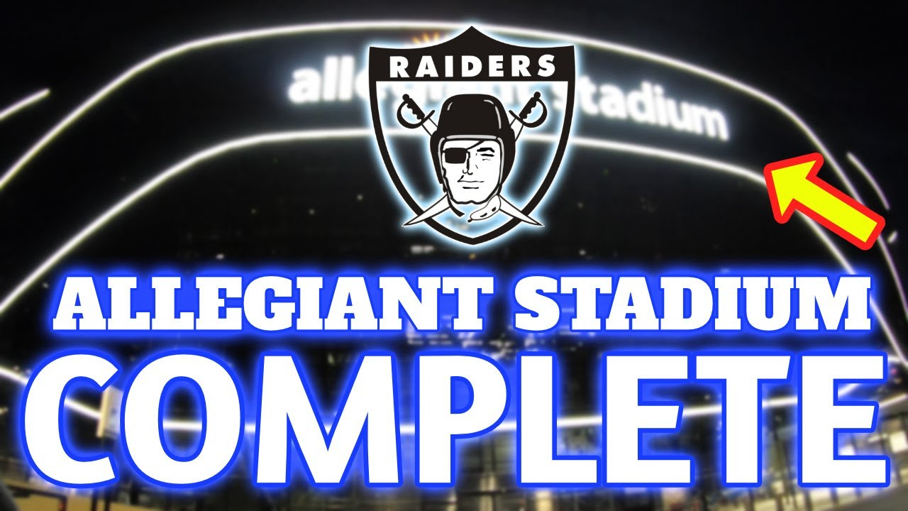 When is Allegiant Stadium in Las Vegas Going to Open?