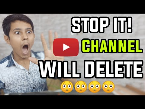 Stop It Don't Do This Your Youtube Channel Will Delete Suspend Terminated   Youtube Mistakes