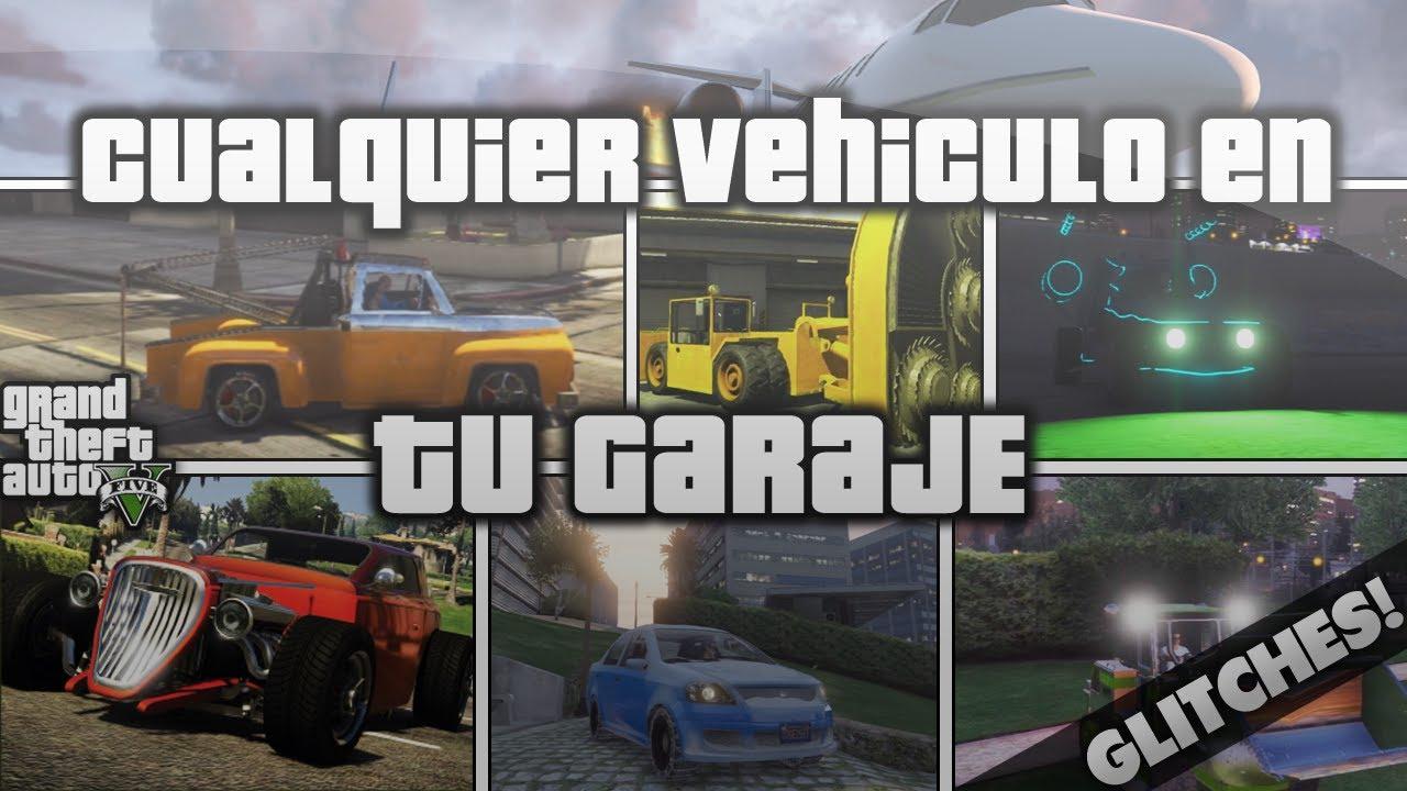 Gta v como tener el vehiculo raro que quieras en tu garaje - Garaje de coches ...