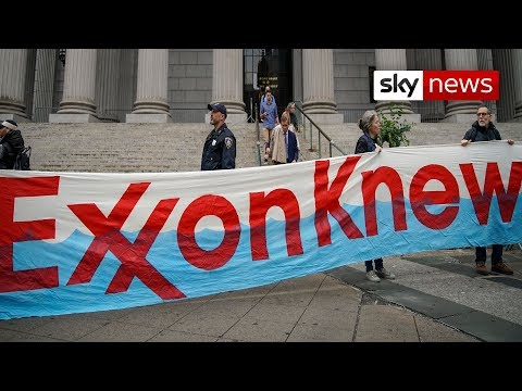 ExxonMobil accused of lying to investors over cost of climate change