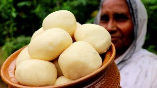 Homemade Bengali Sponge Rasgulla Recipe by Grandmother | Pure Chena Rasgulla Recipe
