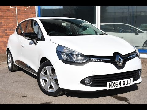 used renault clio 1 2 16v dynamique medianav 5dr white. Black Bedroom Furniture Sets. Home Design Ideas