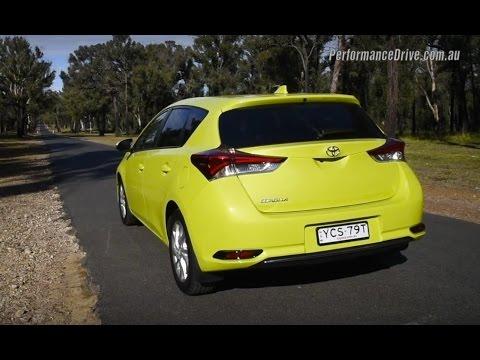 Toyota corolla citrus
