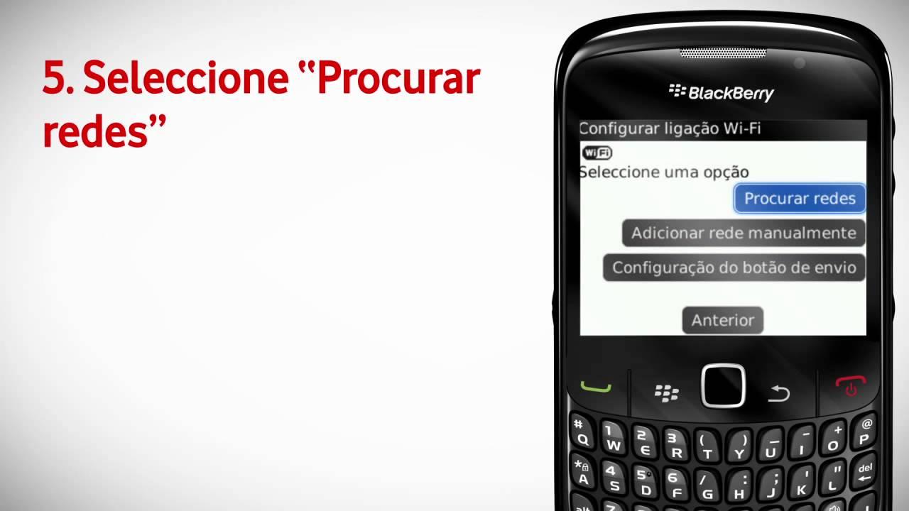 blackberry curve problemas conexion wifi