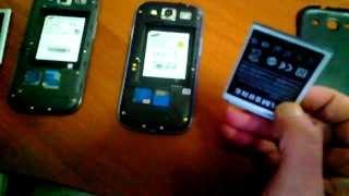 Samsung galaxy S3 vs копия Samsung galaxy S3 ч.1