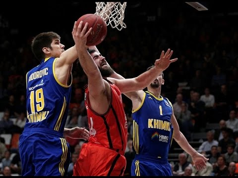 7DAYS EuroCup Highlights: Valencia Basket-Khimki Moscow region, Game 1