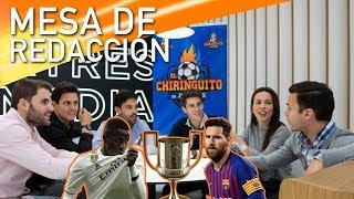 MdR  | 🏆⚽ ⚪ ¿REAL MADRID o BARÇA? 🔴🔵¿Quién PASARÁ a la FINAL de COPA?