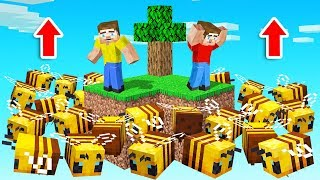 Minecraft SKYBLOCK But BEES RISE!