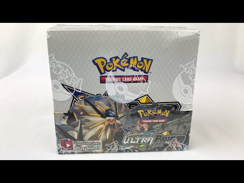 LIVE: Pokémon TCG Ultra Prism Booster Box UNBOXING!