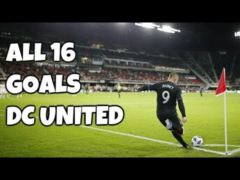Wayne Rooney All 16 Goals For DC United 2019 HD
